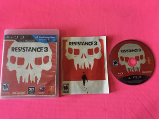 Resistance 3 Ps3 (game Army)