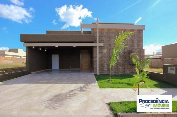 Casa Nova Com 3 Dormitórios À Venda, 150 M² Por R$ 720.000 - Condomínio Figueira Ii - São José Do Rio Preto/sp - Ca2366