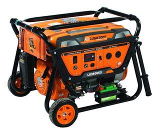 Generador Electrico Lusqtoff Naftero 3500w Lg3500ex