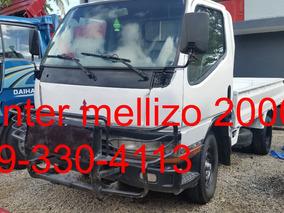 Camion Mitsubishi Canter Mellizo 2000 Nuevo