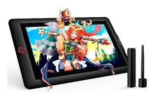 Tableta Gráfica Monitor Xp-pen Artist 15.6 Pro -dial Rojo-