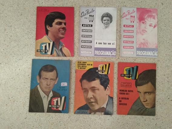 Revistas Sao Paulo Na Tv Jovem Guarda Fotonovela