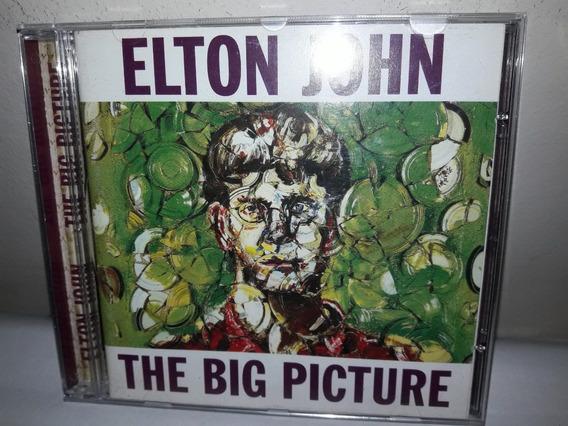 Cd Elton John The Big Piture 1997 Ja