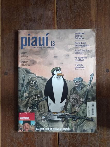 Revista Piauí - Ed. 13 - Ed. Anivers. P/ Colecionadores
