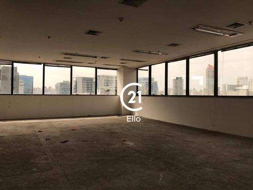 Andar Corporativo Para Alugar, 242 M² Por R$ 12.200,00/mês - Vila Olímpia - São Paulo/sp - Ac0016