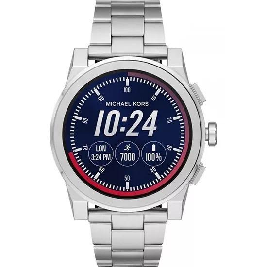 Relogio Michael Kors Acces Watch Mkt 5025 Prata