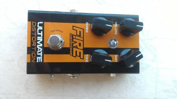 Pedal De Guitarra Ultimation Distortion Fire Custom Shop