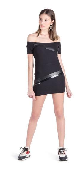 Vestido Mujer Olive Delaostia Negro