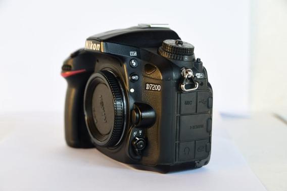 Corpo Câmera Nikon D7200 (130k Cliques)