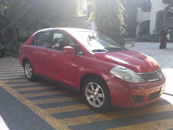 Nissan Tiida Sedan 2009 1.8 Lt Custom T/a Ac