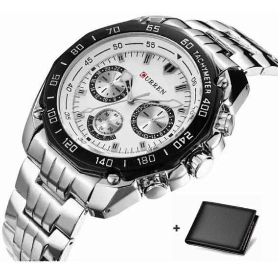 Relógio Curren Luxo Masculino Importado Original 8077