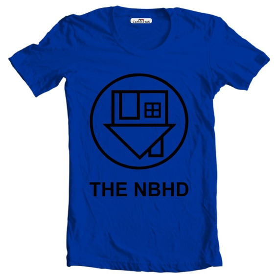 Camiseta Ou Baby Look The Nbhd Neighbourhood Camisa Rock