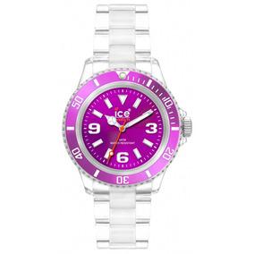 Relógio Chromatic Roxo Pequeno Caixa 38 Mm Ice-watch