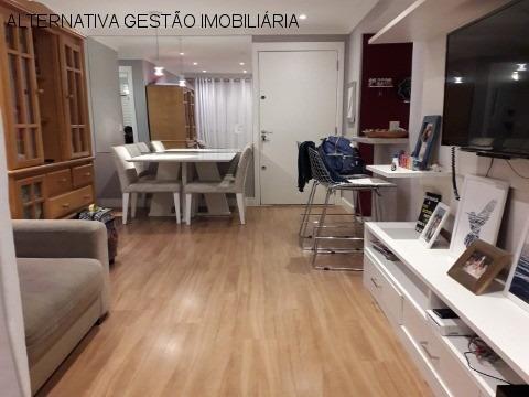 Apartamento Residencial Em São Paulo - Sp, Jaguaré - Apv2527