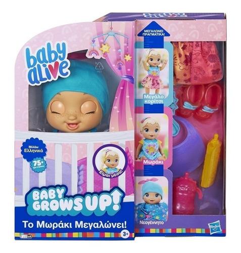 Baby Alive Crece De Verdad Muñeca Bebe Habla E8199 Hasbro Fu