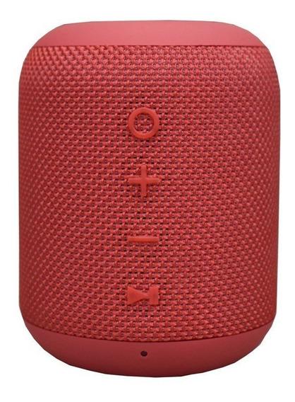 Caixa De Som Bluetooth X-craft X9 Vermelha 10w À Prova De Àg