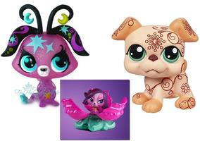 Lps - Zoe Trent & Deco Pet Boxer & Star Dusk Fairy #2860