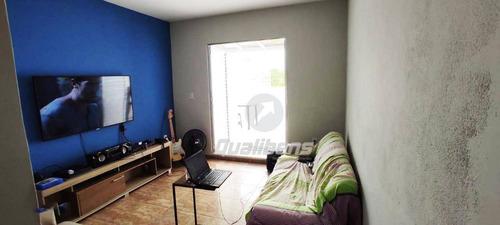 Imagem 1 de 21 de Sobrado Com 2 Dormitórios À Venda, 110 M² Por R$ 450.000,00 - Parque São Vicente - Mauá/sp - So0135