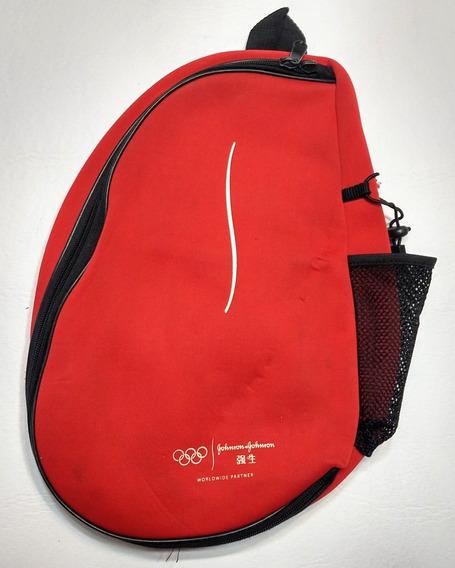 Mochila Cruzada Juegos Olímpicos 2008 Rojo