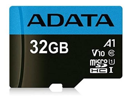 Cartão De Memória Adata 32gb Microsdhc U1 Classe 10 Com Adap