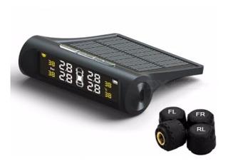 Tpms Kit Sensor De Presion Y Temperatura Neumaticos Solar + Manual En Español + Envio Gratis!