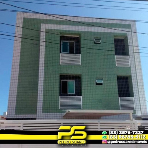 Apartamento Com 2 Dormitórios Para Alugar, 60 M² Por R$ 1.250/mês - Bancários - João Pessoa/pb - Ap2952