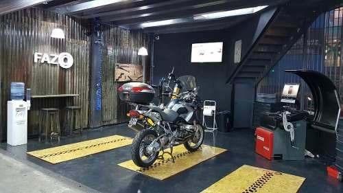 Colocación De Neumáticos De Moto En Fazio C/balanceo
