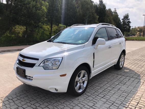 Chevrolet Captiva 2014 Lt Piel Qc Gps V6 Excelente Estado
