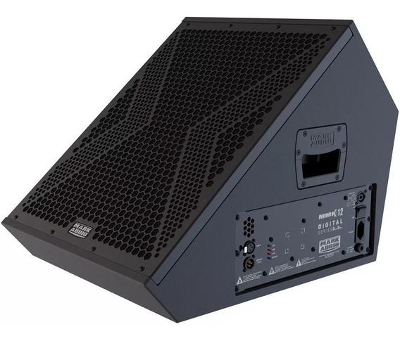 Caixa Monitor Ativo Mmk12 Mark Audio 12 I9som
