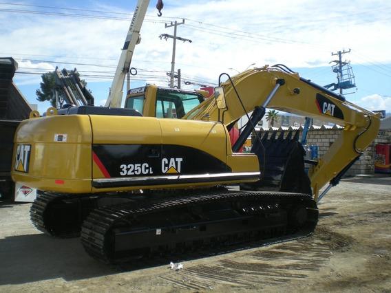 Excavadora Caterpillar 325cl Transitos Al 85% Recien Import