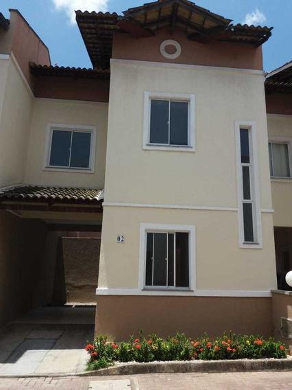 Casa Nova Em Condominio Fechado
