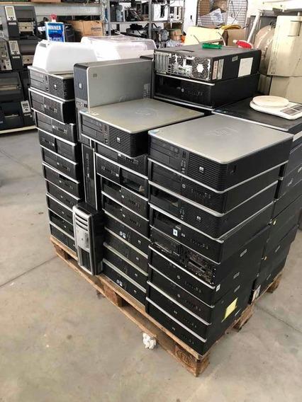 Computadores Hp Compaq Dual Core Tenho Varias Unidades