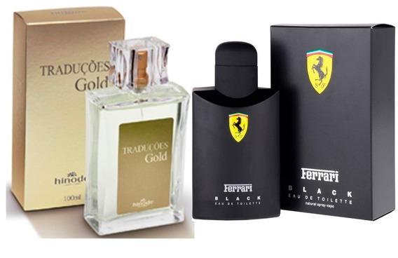 Perfumes Importados Traduções Gold Hinode Masculinos