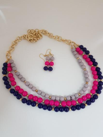 Collar Perla Cristal
