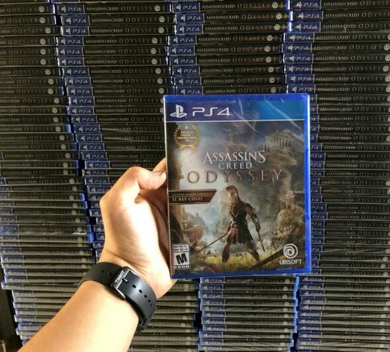 Assassins Creed Odyssey Ps4 Entrega Inmediata