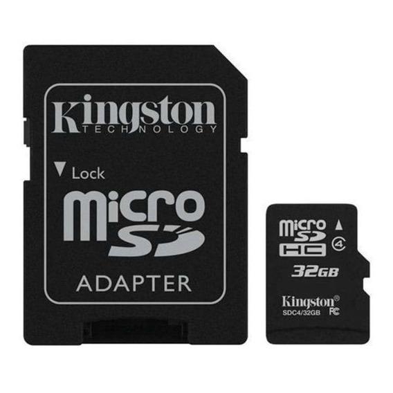 Cartao De Memoria Micro Sd 32gb | Sdhc32gb | Kingston