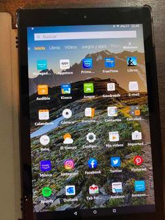 Tablet Amazon Fire 10 Hd Como Nueva!!
