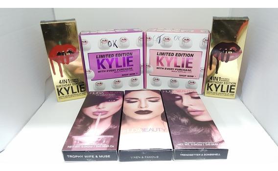 Combo Labiales Kylie + Huda Beauty