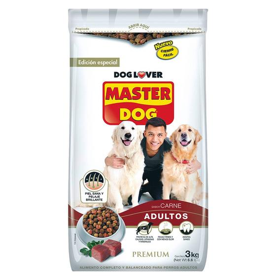 Alimento Perro Adulto Carne 3 Kg