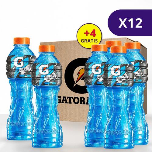 Gatorade Sabor A Mora Botella 500ml. Caja De 12 Unidades