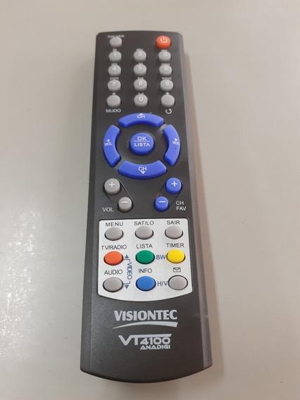 Controle Remoto Para Receptor Vt-4100