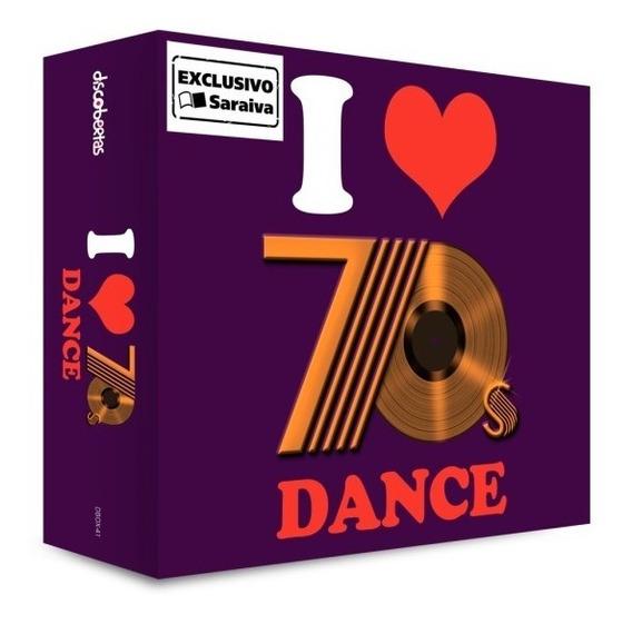 Cd Box Triplo I Love 70´s Dance Lacrado Disco Funk Pop Dance