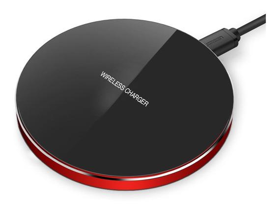 Cargador Inalámbrico Rápido Wireless Universal Qi Glückluz