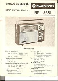 Esquema Radio Sanyo Rp-8351
