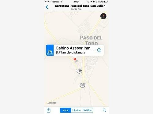 Terreno Comercial En Renta Paso Del Toro