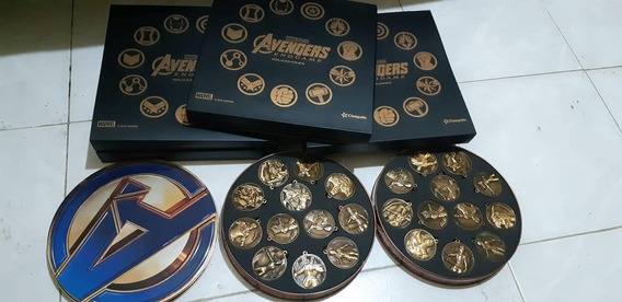 Coleccionador Llaveros Endgame Avengers Con Folio