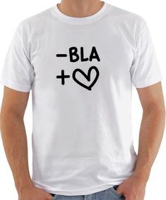 Camiseta Infantil Masculina Feminina -bla + Amor 1029