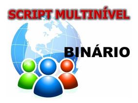 Sistema Marketing Rede Multinível Binário Mmn Software