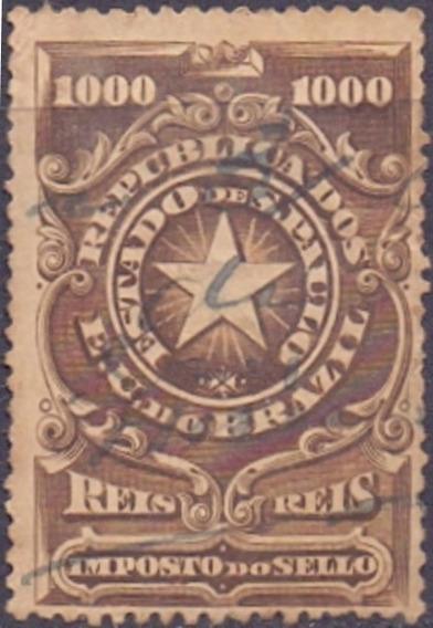 S P - Imposto .do Sello - 1905 - 1000 Reis ---------- 10084