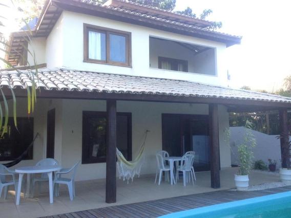 Casa 4/4 Sendo 3 Suítes Dentro Cond Em Praia Do Forte - 730